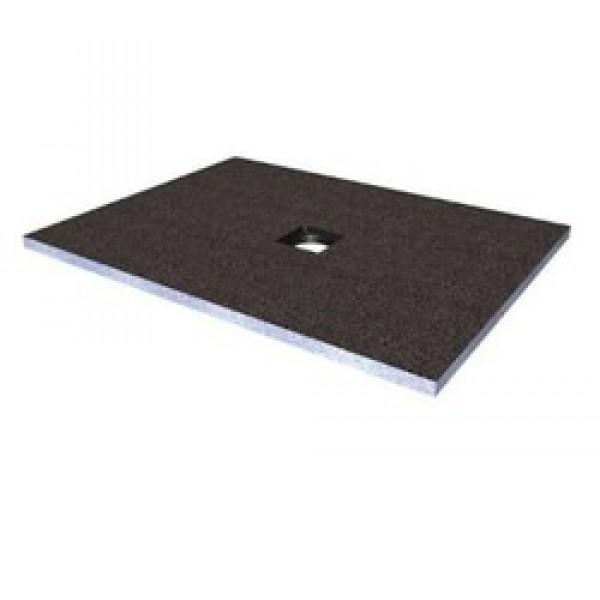 Abacus Elements Rectangular Standard Shower Tray 30mm High with Centre Drain