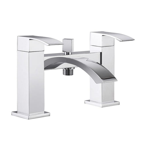 Abacus Ala-S Single Handle Deck Mounted Bath Shower Mixer Tap-Chrome