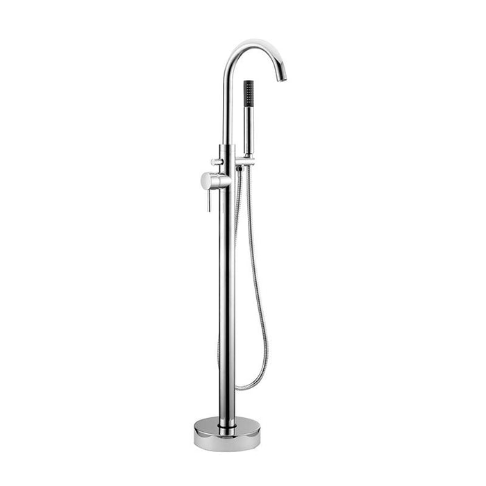 Abacus Iso Freestanding Bath Shower Mixer Tap-Chrome