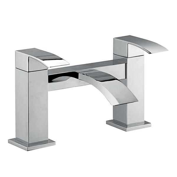 Abacus Ala-S Deck Mounted Bath Filler Tap-Chrome