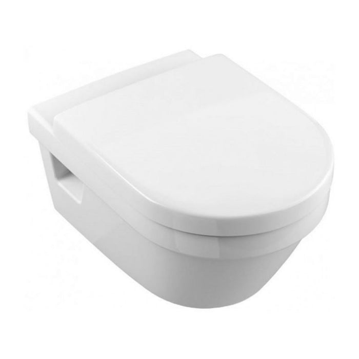 Abacus D Style Wall hung Toilet-Soft Close Seat And Cover-White