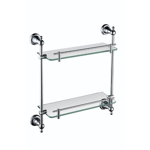 Heritage Holborn Double Glass Shelf