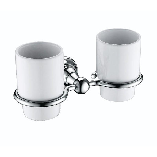 Heritage Holborn Double Tumbler & Holder