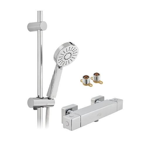 Vado Bokx Multi Function Thermostatic Shower Package