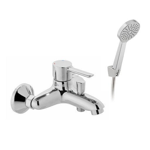 Vado Kore Wall Mounted Bath Shower Mixer + Shower Kit