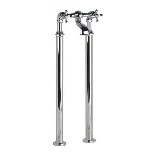 Cifial Edwardian 2 Hole Floor Standing Bath Filler Chrome