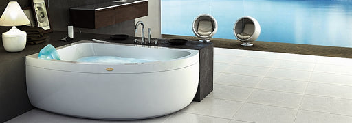 Jacuzzi Aquasoul Offset Whirlpool Bath
