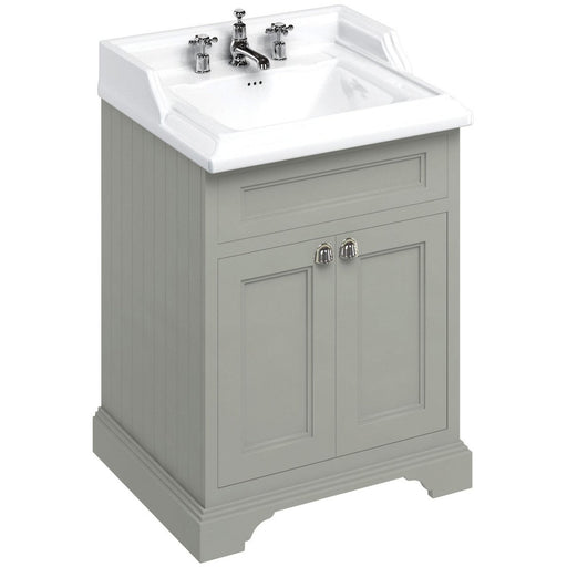 Burlington 65cm Vanity Unit with Two Doors and Classic Basin