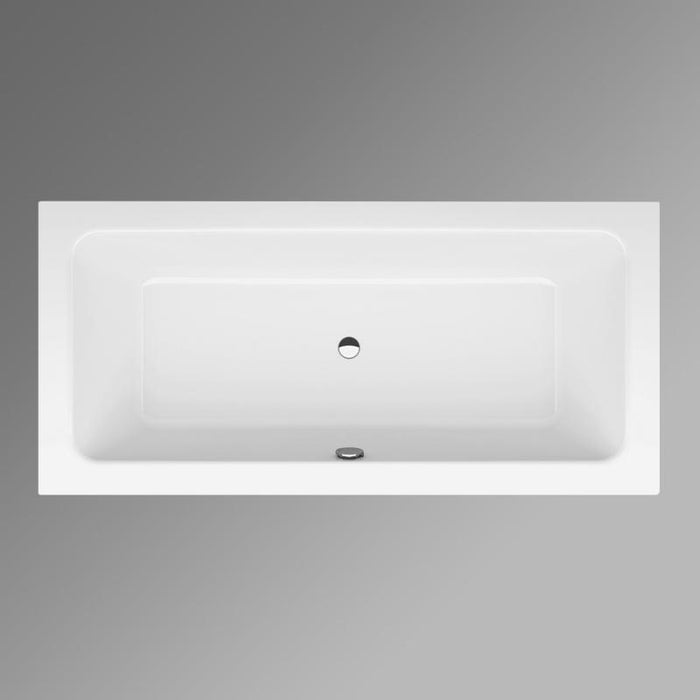 Bette One Double Ended Rectangular Bath - No Tap Holes - White