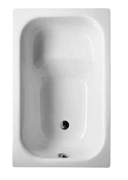Bette Hip Single Ended Rectangular Bath - No Tap Holes - White