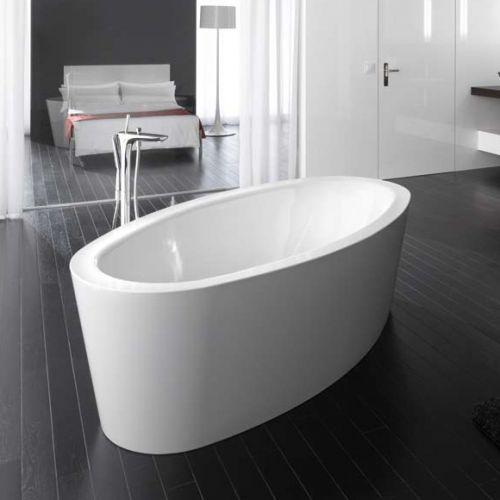 Bette Home Oval Freestanding Bath - 1800mm X 1000mm - No Tap Holes - White