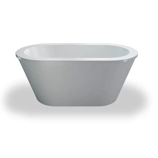 Britton Cleargreen Nouveau Petite Freestanding Bath - 1500mm x 800mm - White