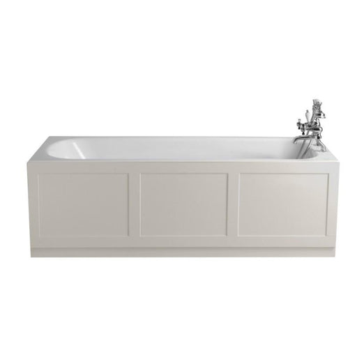 Heritage Sutherland 1700x750 Cast Iron Fitted Bath 0TH