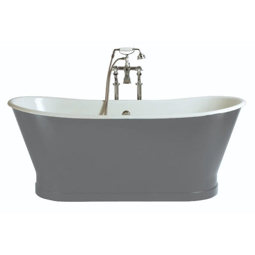 Heritage Maderia Cast Iron Freestanding Bath 1700 x 695 No Tap holes