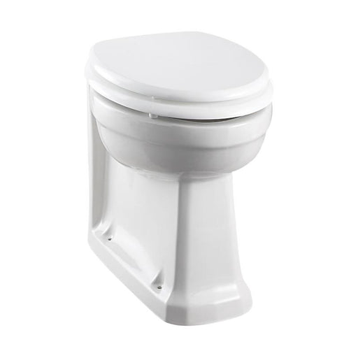 Burlington Rimless Back to wall WC