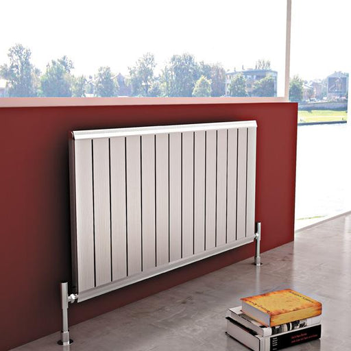 Carisa Elite Horizontal Designer Radiator - Traffic White