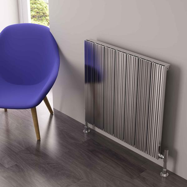 Carisa Monza  Aluminium Single Panel Horizontal Radiator