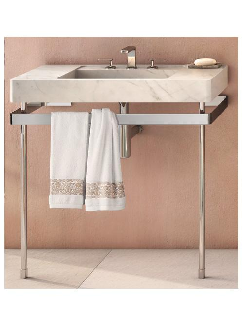Cifial Techno S2 Stainless Steel Support Legs for Full Size Marble Basin