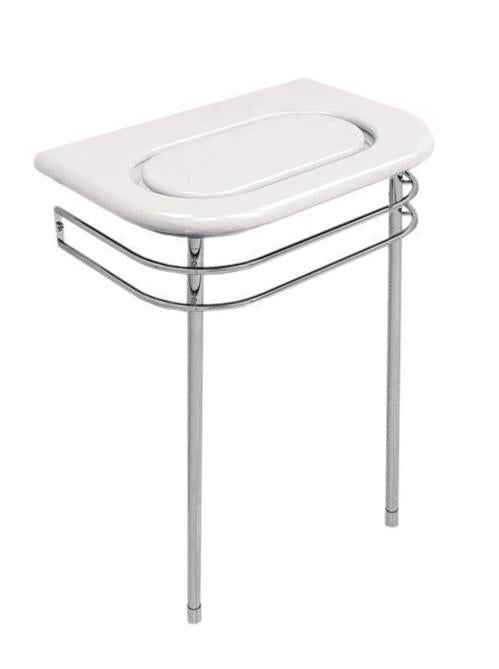 Cifial Techno S3 Double Rail Stainless Steel Support Legs For Compact MarbLe Basin