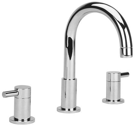 Cifial Technovation 300 3 Hole Deck Basin Mixer Chrome