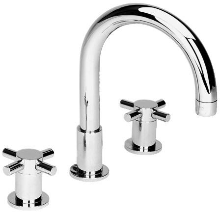 Cifial Technovation X300 3 Hole Deck Basin Mixer Chrome