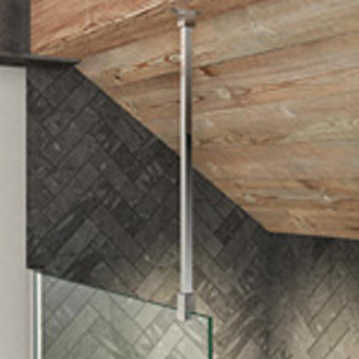 Kudos Ultimate2 Wetroom Kits - Glass to Ceiling Stabilising Bar 600mm - Standard