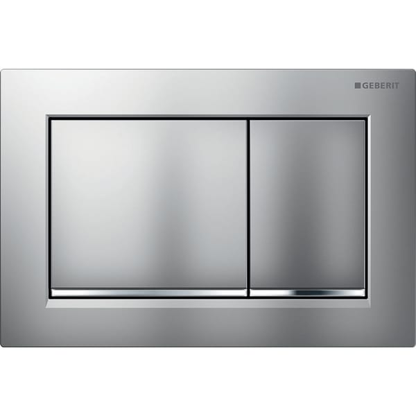 Geberit flush plate Omega30 for dual flush