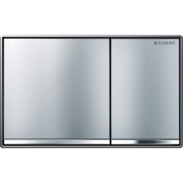 Geberit flush plate Omega60 for dual flush