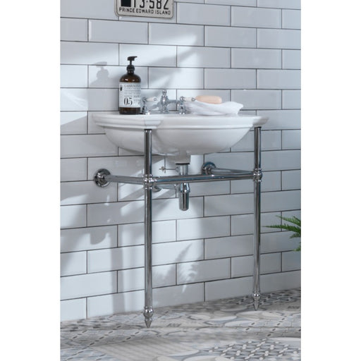 Silverdale  Damea / Balasani Traditional Basin Stand - Chrome