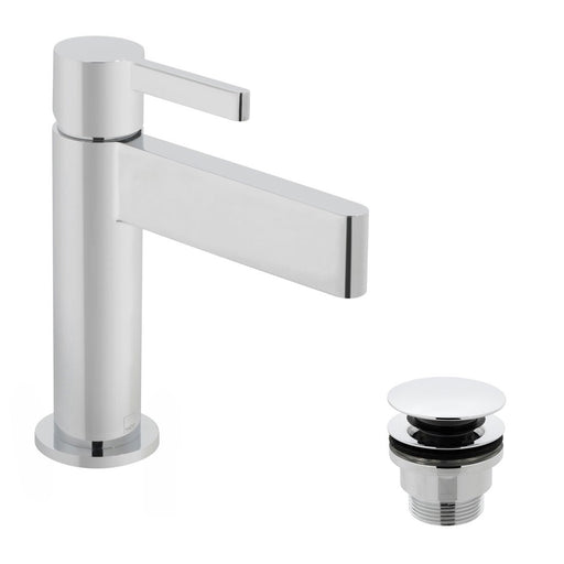 Vado Edit Mono Basin Mixer With Clic-Clac Waste