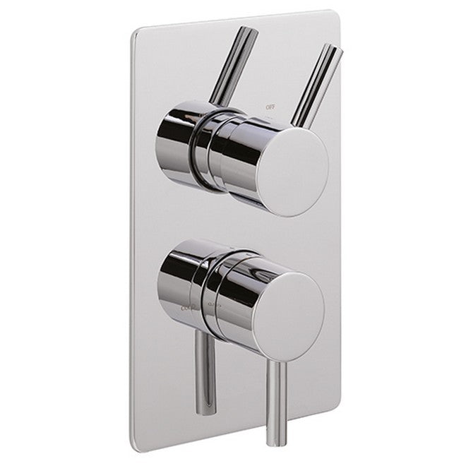 Sagittarius Ergo Concealed Thermostatic Shower Valve - Chrome