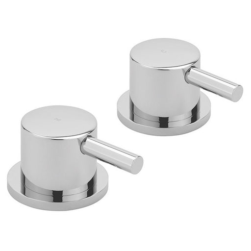 Sagittarius Ergo Side Valves - Pair - Chrome