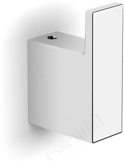 Essential Urban Square Robe Hook - Chrome