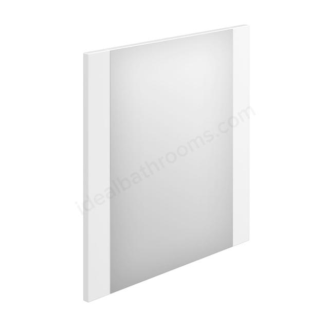 Essential Nevada Rectangular Bathroom Mirror - 550mm Wide- White