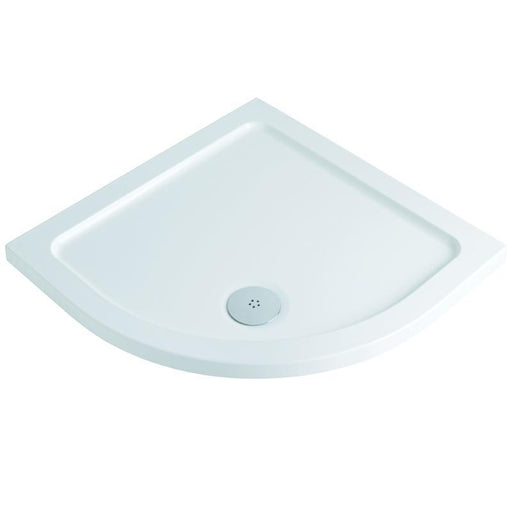 MX Elements ABS Stone Resin Flat Top Quadrant Shower Trays