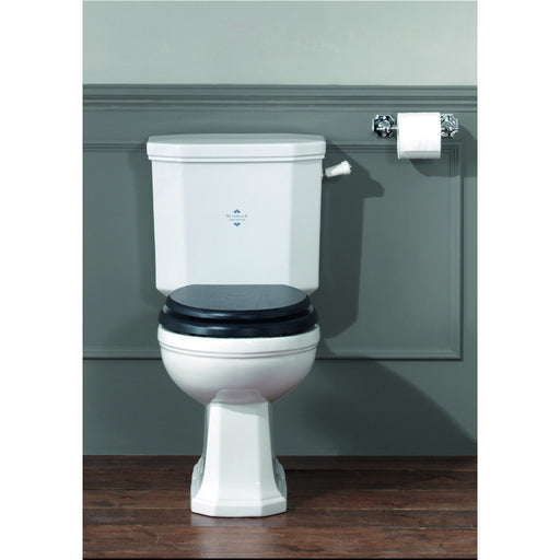 Silverdale Empire White Close Coupled Pan with Seat & Cistern