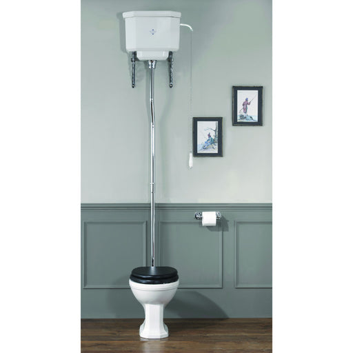 Silverdale Empire White High Level Cistern & Fittings