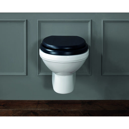 Silverdale Empire Wall Mounted Toilet with Seat