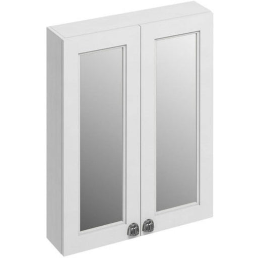 Burlington Double Door Mirror Cabinet with 2 adjustable glass shelf