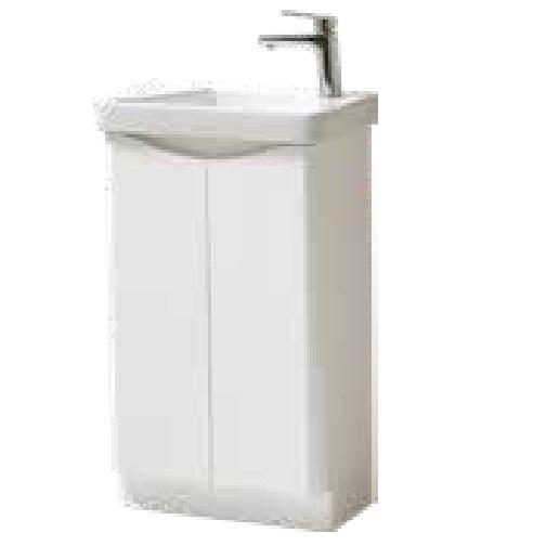 Kartell Cayo Floor Standing 500 x 290mm 2 Door Cloak Unit and Basin
