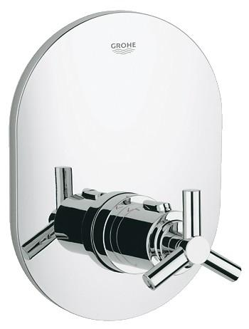 Grohe Atrio Ypsilon Thermostatic Shower Valve - Chrome