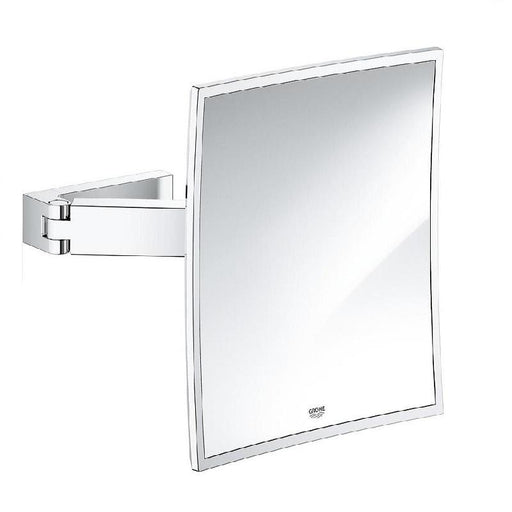 Grohe Selection Cube Cosmetic Mirror - Chrome