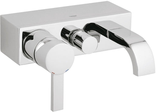 Grohe Allure Wall Mounted Single Lever Bath Shower Mixer Tap - Chrome