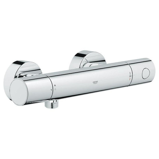 Grohe Grohtherm 1000 Cosmopolitan Exposed Wall mounted Thermostatic Shower Mixer Valve - Chrome