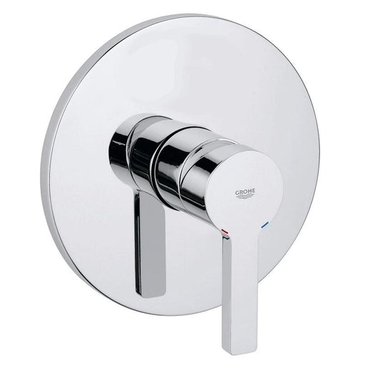 Grohe Lineare Concealed Single Lever Shower Mixer Valve Without Diverter - Chrome