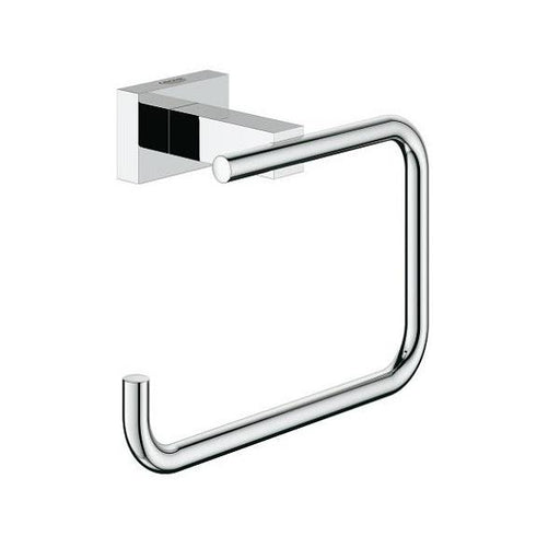 Grohe Essentials Cube Toilet Roll Holder - Chrome
