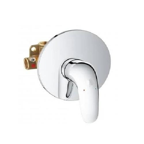 Grohe Eurostyle Concealed Single Lever Solid Shower Mixer Valve - Chrome