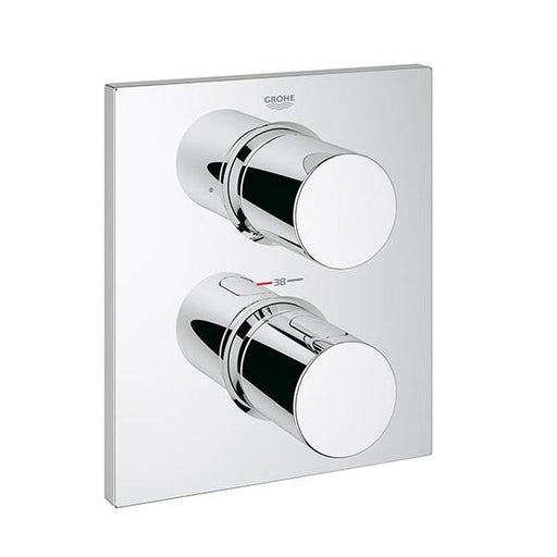 Grohe Grohtherm Thermostatic Dual Outlet Shower Valve With Diverter - Chrome