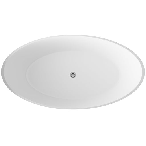 Hudson Reed Grace Freestanding Bath -  1510mm x 760mm - White