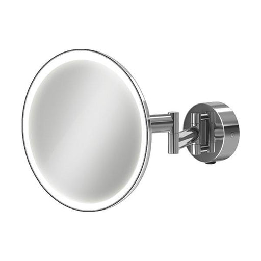 HiB Eclipse Round Magnifying Bathroom Mirror  - Chrome